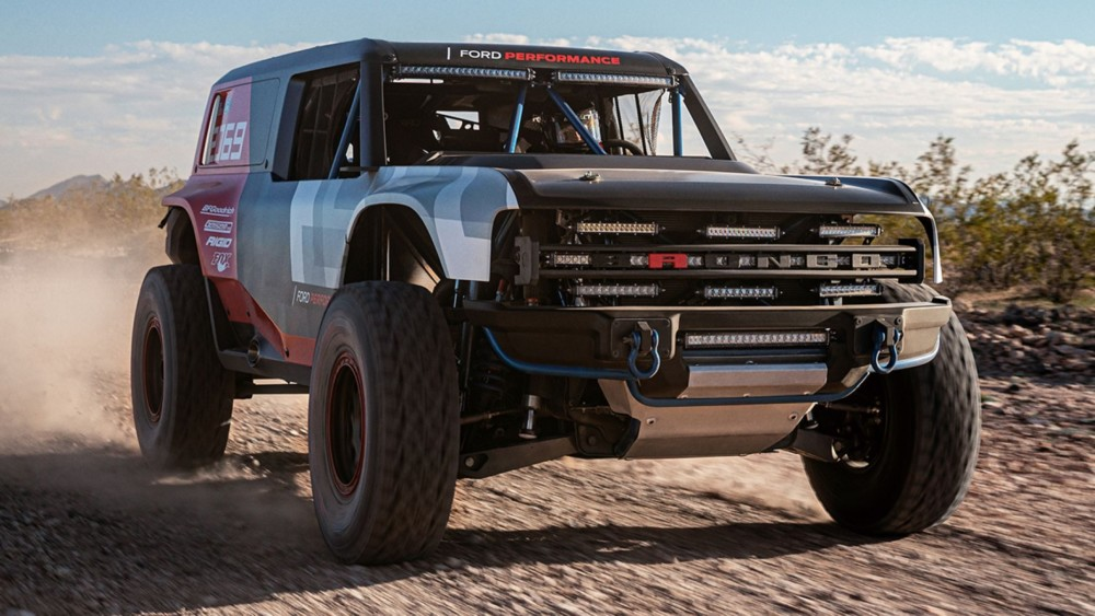 The Ford Bronco was nearly called the Wrangler