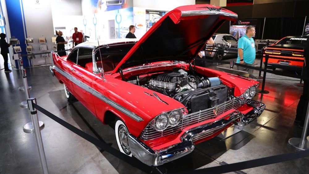 1000 HP 1958 Plymouth Fury custom tribute to 'Christine'