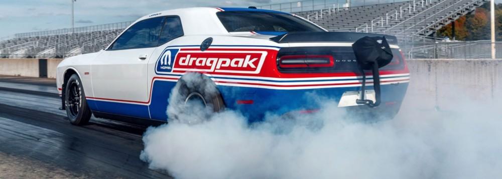 Here's the monster 2020 Dodge Challenger Drag Pak