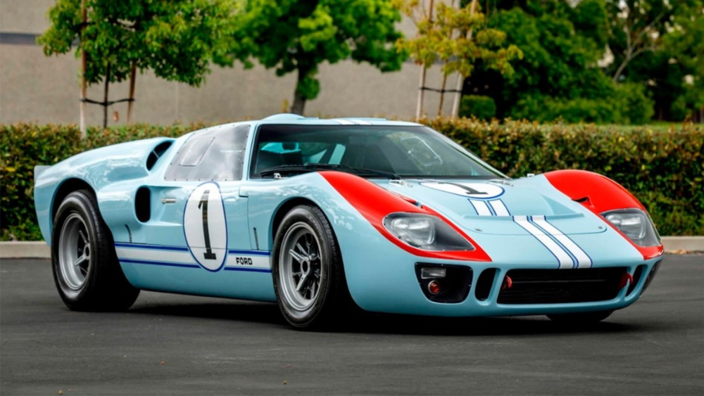 Christian Bale's Ford GT40 from 'Ford v. Ferrari' headed to Auction