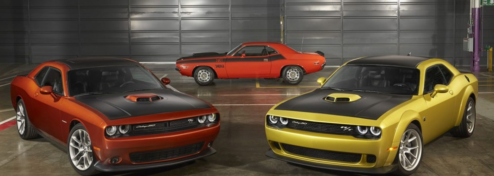 The 50th Anniversary Dodge Challenger will be a future collectible