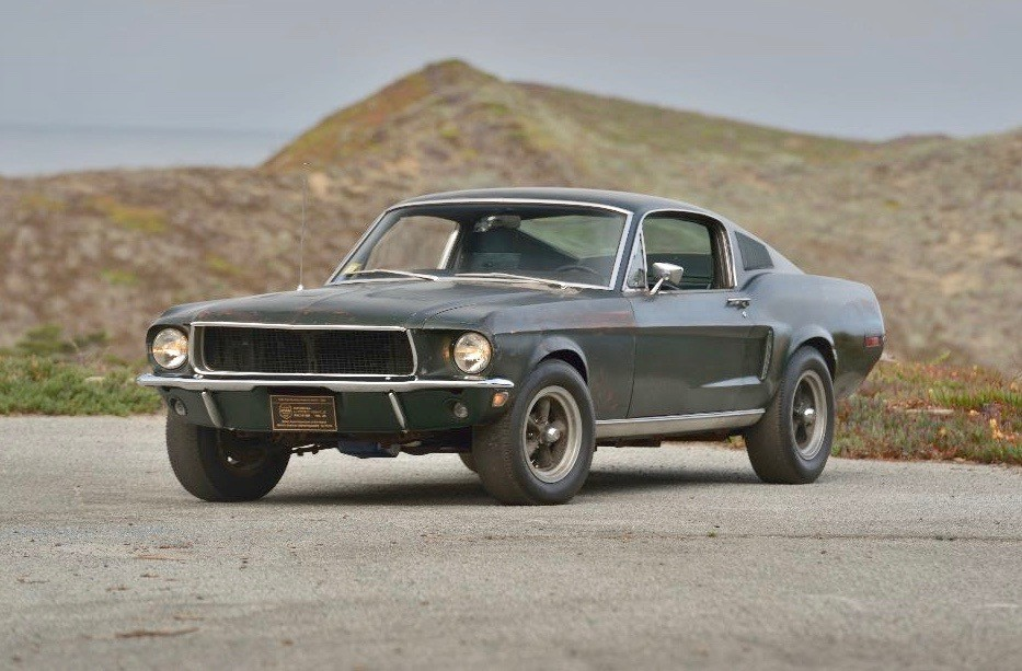 Steve McQueen's 'Bullitt' Ford Mustang sells for record $3.4M at Mecum Auction