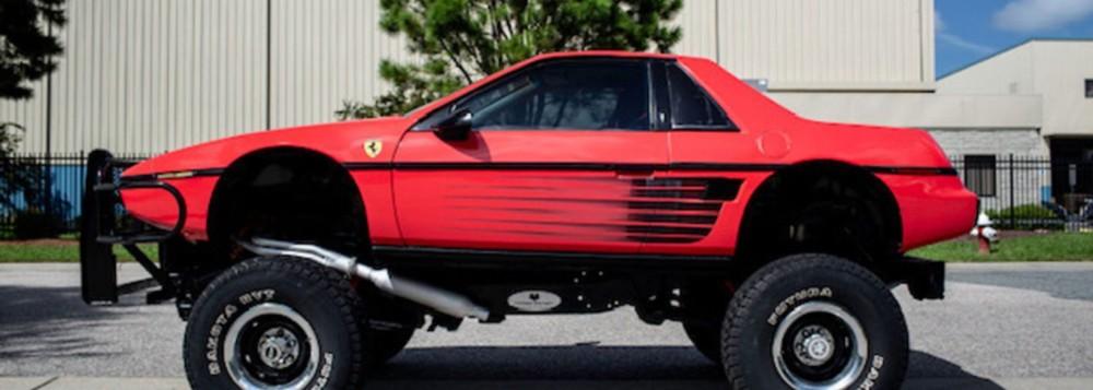 This Pontiac Fiero-Chevy Blazer is the most bizarre SUV around