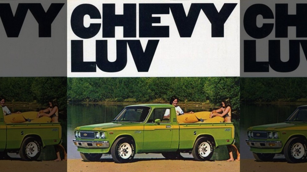 The Chevrolet LUV is not a Romantic Vehicle