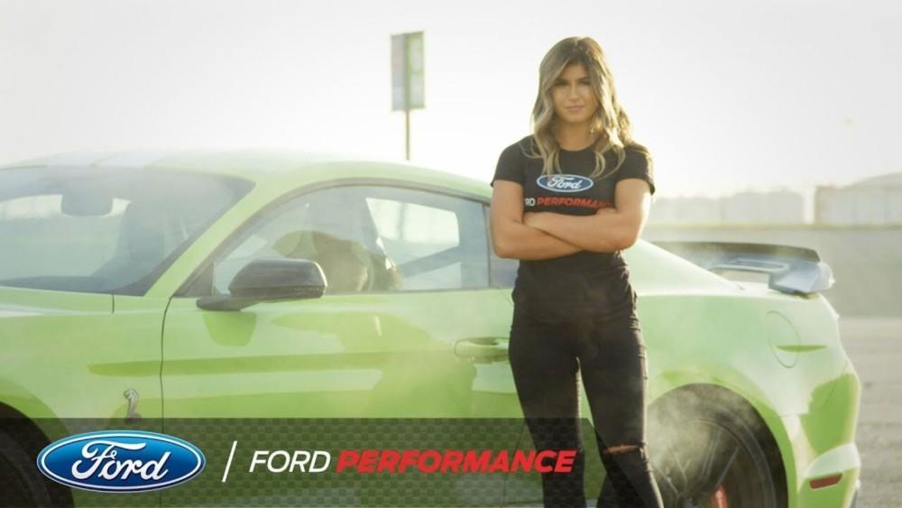 NASCAR star Hailie Deegan get a new car from Ford