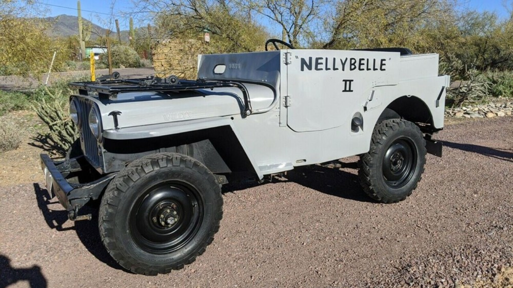 Roy Rogers' classic Jeep CJ Nellybelle II sells on Ebay