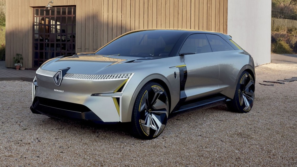 The Renault Morphoz SUV concept