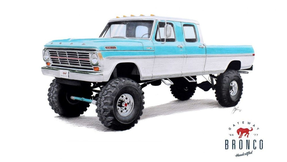 'New' 1969 Ford F-250 monster truck priced at $250K