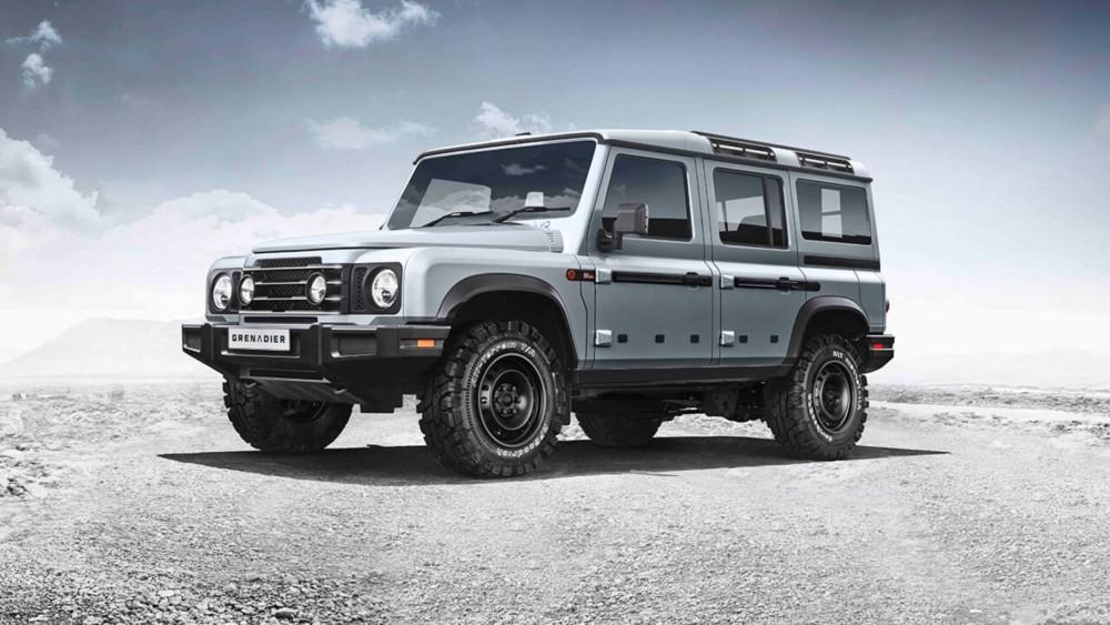 Ineos Grenadier is British billionaire's new off-road SUV brand