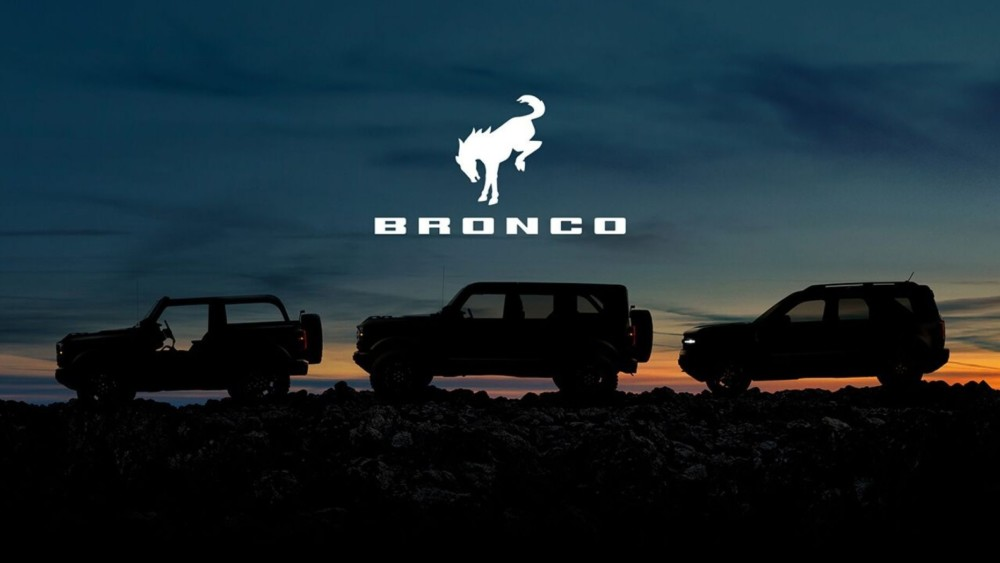 Ford Bronco to offer 3 different models on July 13