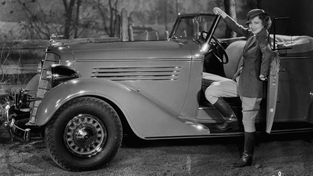 Olivia de Havilland's Buick was a blockbuster convertible