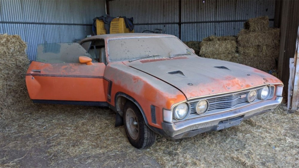 1973 Ford Falcon parked in shed for 30 years sells for $215K