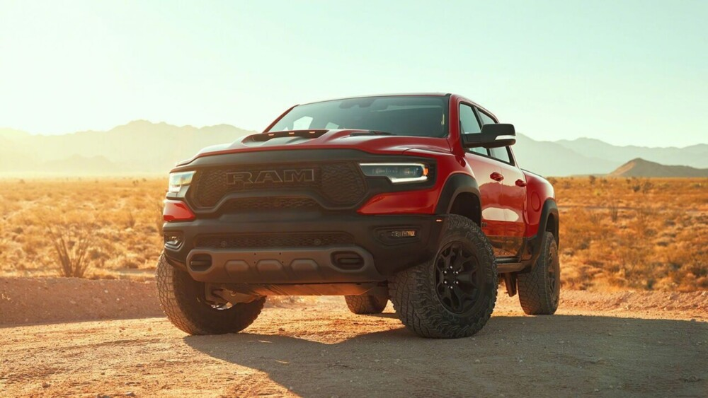 Dodge Ram 1500 TRX is the most powerful pickup in the world