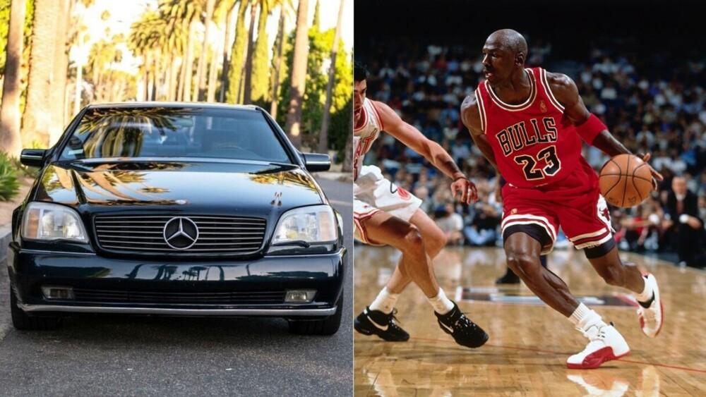 Michael Jordan's Last Dance Mercedes-Benz sells for $202,200