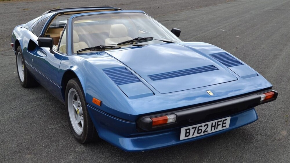 Iggy Pop's classic Ferrari 308 heading to auction