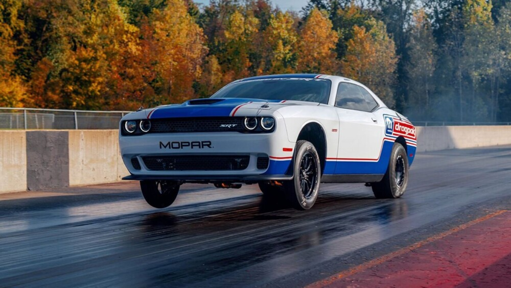 The Dodge Challenger Drag Pak is a $143G muscle car