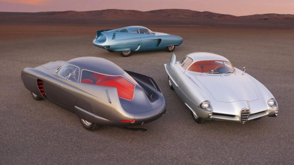 3 classic Alfa Romeo BAT-mobiles sell for $14.8M