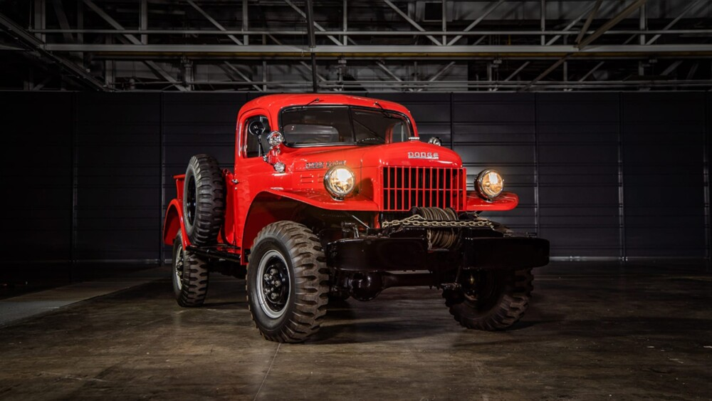 75th anniversary Ram 2500 Power Wagon salutes first 4×4 pickup