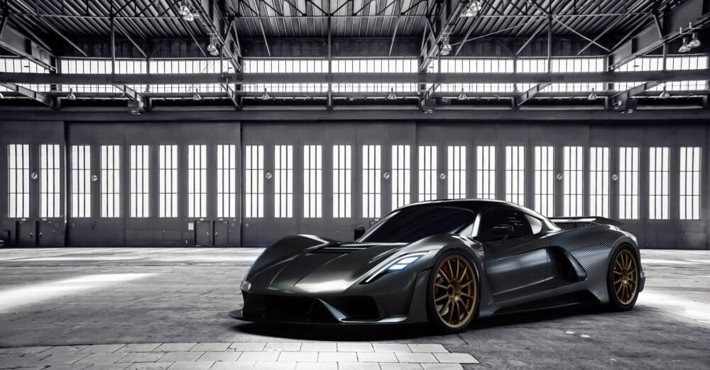 Texas-made 311 MPH Hennessey Venom F5 supercar revealed
