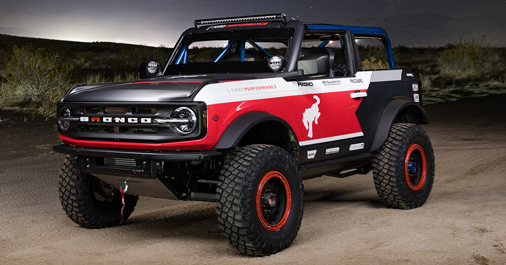 Extreme Ford Bronco build is ready to race off-road
