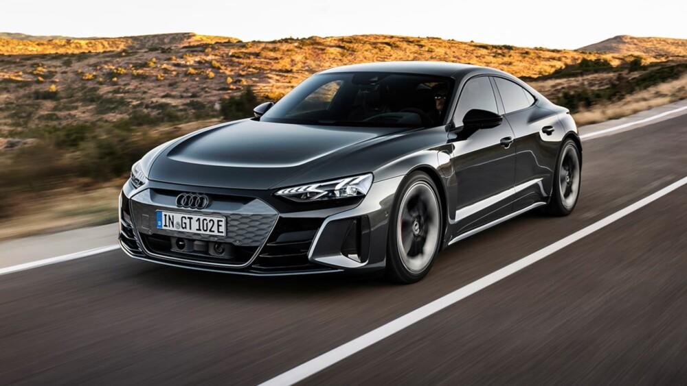 Audi e-tron GT electric sports sedan to take on Tesla Model S
