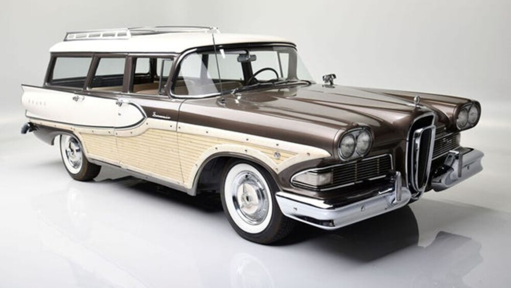 Edsel Ford II is selling his 1958 Edsel Bermuda station wagon