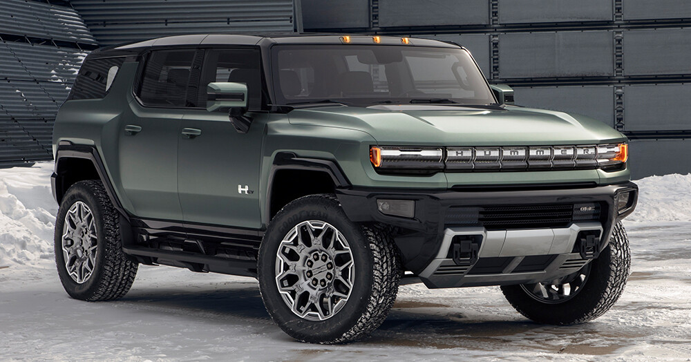 Here is the Electric 2024 GMC HUMMER EV SUV 'supertruck'
