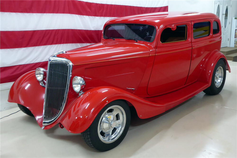Eddie Van Halen's 1934 Ford is on fire and up for auction