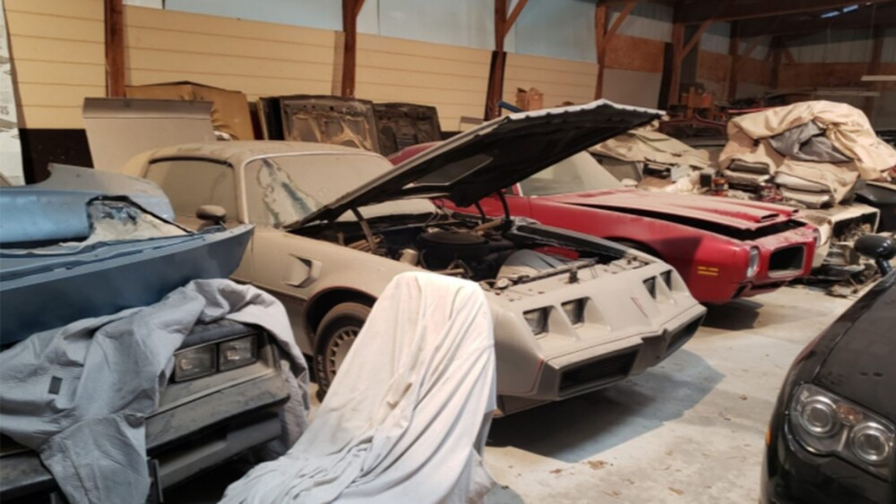 Mischievous postman's collection of 20 classic Pontiac Trans Ams up for auction