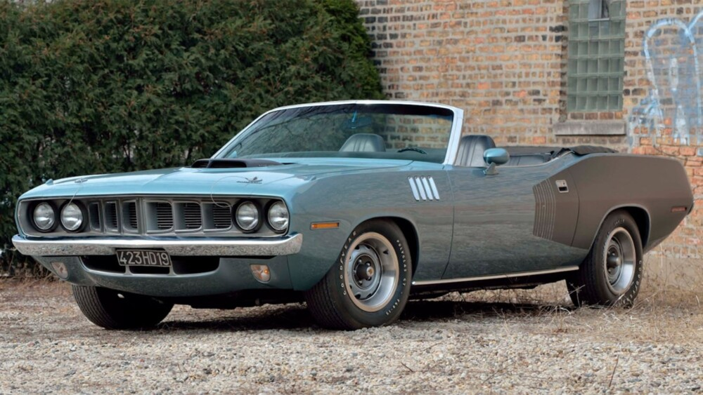 Ultra-rare 1971 Plymouth Hemi Cuda worth millions up for auction