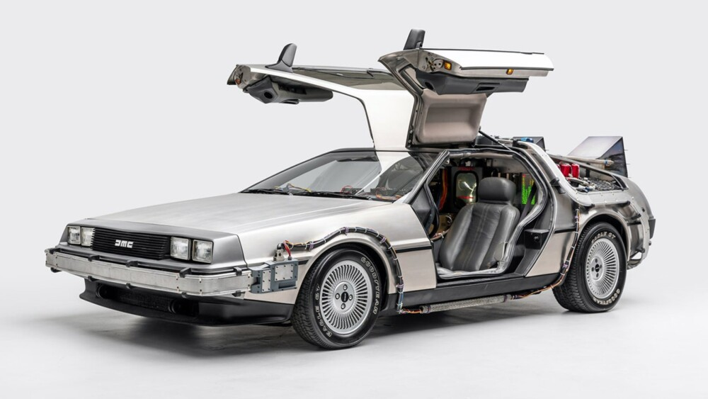 Back to the Future DeLorean added to National Historic Vehicle Register
