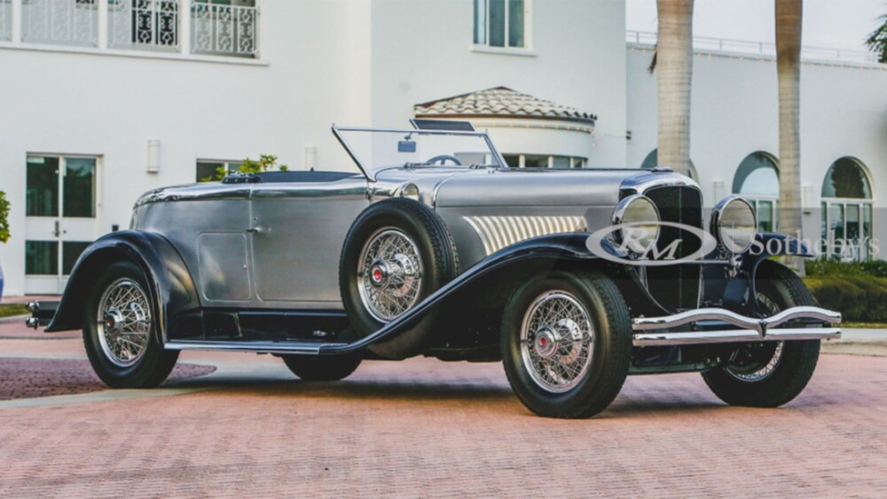 1929 Duesenberg Disappearing Top Torpedo auctioned for $5.725 million at Amelia Island