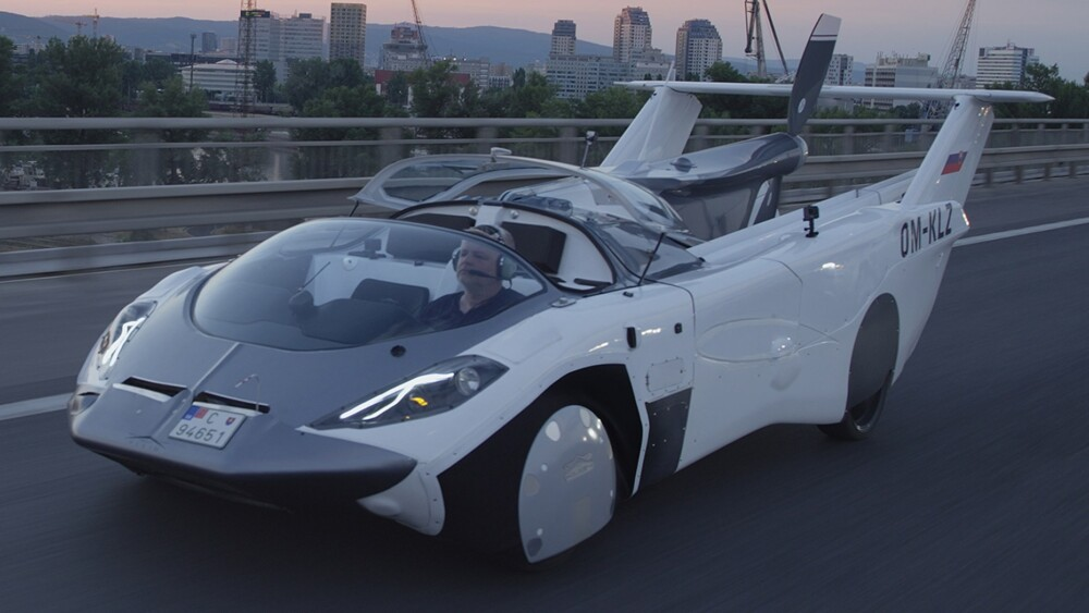 Flying car completes first intercity test flight
