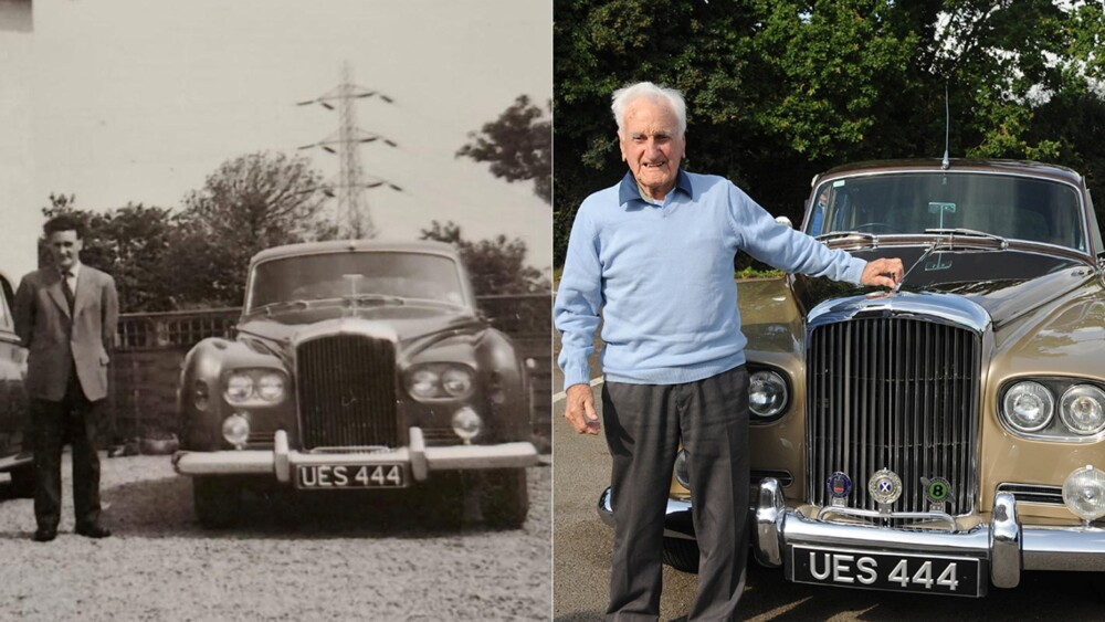 100 year old gifted car he drove as a chauffeur in 1964